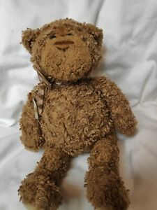 VINTAGE GUND BROWN TEDDY BEAR MILTON 44714 PLUSH SOFT STUFFED ANIMAL TOY 12""