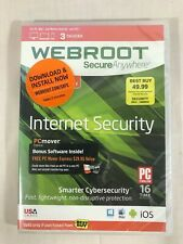 Webroot SecureAnywhere Internet Security w/ Antivirus - 3 Devices NEW