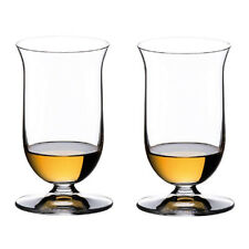 Riedel Vinum Crystal Single Malt Scotch Tasting Whiskey Glasses, Clear (2 Pack)