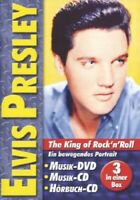 Elvis Presley - The King of Rock'n'Roll - Musik DVD+CD und Hörbuch CD Neu/OVP