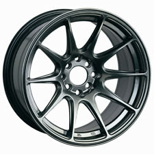 XXR 527 17X8.25 5x100/114.3 +25 Chromium Black Wheel Fits Accord Rsx Tsx Tiburon