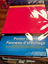 """Jot Neon 5 Poster Board Size 11"""" x 14"""" New In Pack"""