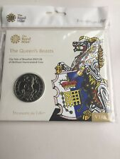 The Queen's Beasts The Yale of Beaufort 2019 UK £5 Brilliant U Coin Royal Mint