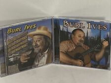 BURL IVES, 2004 PLATINUM DISC ISSUE, LOT OF 2 CD'S