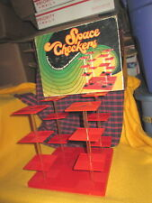 Vintage 1971 SPACE CHECKERS 3-D Board Game by Pacific Game Co.Very Good Conditio