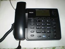 New RCA Corded Phone 25201RE-A with adapter