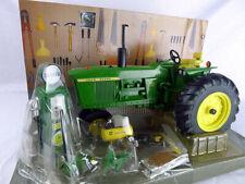 Deere 4020 with gas pump Die-cast model tractor Ertl 1-16