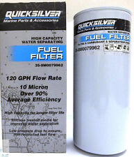 OEM MerCruiser Mercury Fuel Water Separator Filter 120GPH 10 Micron 35-8M0079962