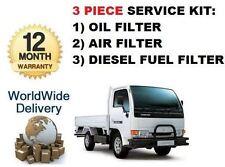 FOR NISSAN CABSTAR 2.7TD 90 / 95 2000-2004 SERVICE KIT OIL AIR FUEL FILTER SET