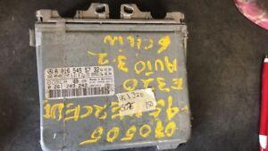 1995 Mercedes E320 ecm ecu computer A 016 545 57 32