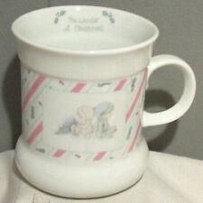 Precious Moments The Wonder Of Christmas Porcelain 1989 Samuel J Butcher Mug