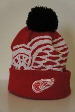NHL New Era Detroit Red Wings Pom Beanie