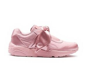 Puma x Rihanna Fenty Bow Sneakers Pink Silver Pink 365054 01 Size 7.5-9