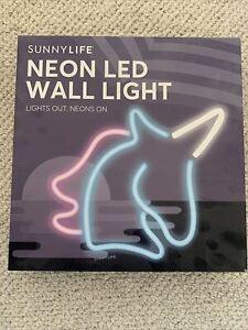 Sunnylife Unicorn Neon LED Wall Light 30cm RRP £45.00