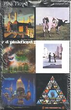 More details for pink floyd 6 magnets collectible magnet set - 2005 - official import sealed rare