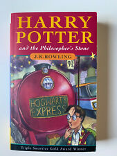 """Buch book """"Harry Potter and the Philosopher's Stone"""" von J.K.Rowling, in English"""