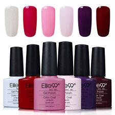 Elite99 UV LED Nagellack Gel Polish Farbgel Nagelgel Gellack 6 Farben Set 04