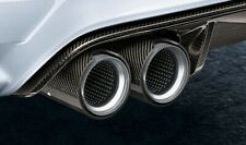orig. BMW M Performance Endrohrblende Carbon für Serie M2 F87 M3 F80 M4 F82 F83