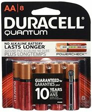 4 Pk Duracell Quantum AA Batteries With Duralock Power Preserve Technology 8 Ea