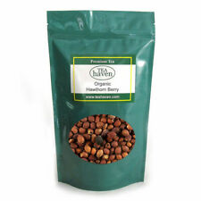 Organic Hawthorn Berry Herb Tea Crataegus Oxycanthuss Herbal Remedy - 1 lb bag