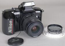 Nikon N5005 (F401x) 35mm AutoFocus (AF) SLR w/ 35-80mm Zoom + CF-37 Case WORKING