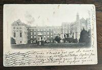 1904 Loreto Abbey Rathfarnhm Dublin Ireland RPPC Real Picture Postcard Cover