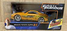NIB Jada Toys Fast and Furious 1:24 Radio Control Brian's Toyota Supra