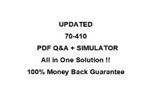 Microsoft Certified Solutions Associate (MCSA): (70-410)  EXAM QA PDF&Simulator