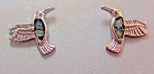 PAUA Shell Abalone Nature's 1 Earrings Wheeler Mfg Humming Bird WME 012 NEW