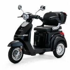 VELECO Cristal Scooter elettrico 3 ruote Disabili Anziani 25km/h 1000W NERO