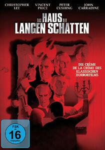 DAS HAUS DER LANGEN SCHATTEN - Vincent Price, Christopher Lee (DVD) *NEU OPV*