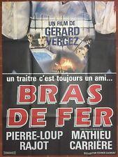 Affiche BRAS DE FER Gérard Vergez BERNARD GIRAUDEAU Christophe Malavoy 120x160 *