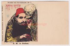 More details for turkey s. m. le sultan abdul-hamid butcher ghoul behind him chromo pc e20c -t026