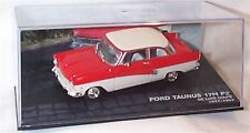 Ford Taunus 17M P2 De Luxe Coupe Red & White 1-43 scale  new in case