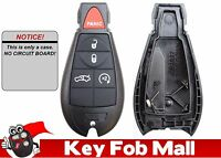 NEW 5 BUTTON CASE ONLY Keyless Entry Key Fob Remote For a 2013 Dodge Challenger