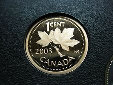 2003 Canadian Proof Penny One Cent - 1 cent
