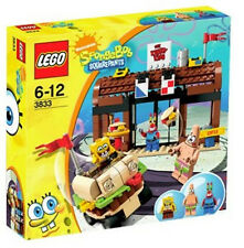 Lego 3833 SpongeBob Krusty Krab Adventures ** Sealed Box ** Patrick Mr. Krabs