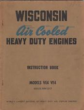 Wisconsin Air Cooled Heavy Duty Engines Model Ve4, Vf4 Instruction Manual (025)