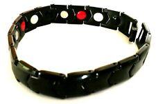 Ceramic Bracelet with Magnetic Hematite. KCR01