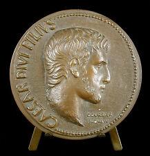 Médaille 1954 Arles Empereur Auguste Caesar  fondateur Bucrane sc Courbier medal