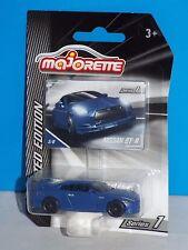 Majorette 2017 Limited Edition Series 1 Nissan GT-R Blue