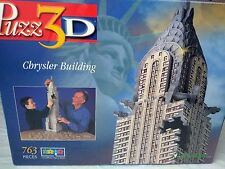 Wrebbit PUZZ-3D Chrysler Building (2000) 3D Puzzle - 763 pcs # P3D-920 NEW NIB