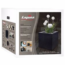 "Laguna Decor Urban Style Decorative Water Feature Kit, Osio 15.8"" x 15.8"" x 16"""