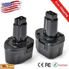 2x 7.2V 2.0AH Ni-CD Battery For Dewalt DW9057 DE9057 DE9085 DW920K2 DW925K2 NEW!