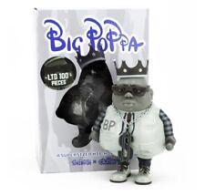 Big Poppa MC Monotone Version Limited Edition 100 pcs Clutter x Ron English