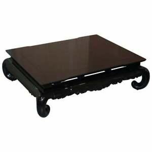 RRP £10,550 RALPH LAUREN BEEKMAN COCKTAIL COFFEE TABLE BEL AIR BLACK STUNNING