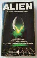 ALIEN A Novel by Alan Dean Foster Movie Tie-In 1st Warner Printing 1979