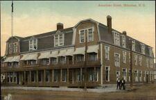 Moncton NB Aberdeen American Hotel c1910 Postcard