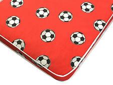 3ft Single Mattress, Red Football Budget Mattress - 3ft x 6ft3 For Footy Boys
