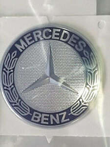 Original Mercedes Benz Emblem Logo Haubenemblem Firmenzeichen Motorhaube NEU OVP